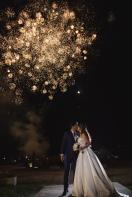 fireworks, fuegos pirotecnicos bogota, bodas bogota, novios felices