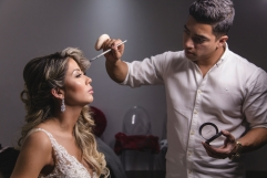 bride makeup colombia